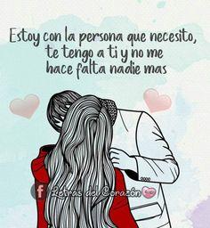 Love Qutoes, Never Let Me Go, Quotes En Espanol, Eternal Love, Anime Love, Funny Quotes, Romantic, My Love, Deep Love