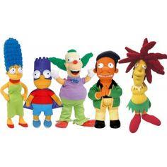 La famille Simpsons en peluche !