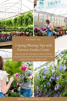 NC Blogger I'm Fixin' To shares five spring planting tips from the experts at Fairview Garden Center for long lasting blooms! Check it out!