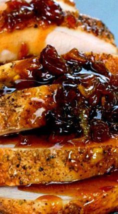 Crock Pot Cranberry Orange Pork Roast