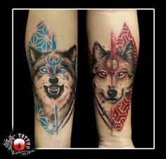 Best Geometric Tattoos And Symbolism Tattoos Infinity, Arm Tattoos, Body Art Tattoos, Small Tattoos, Tattoo Designs, Wolf Tattoo Design, Wolf Tattoo Sleeve, Sleeve Tattoos, Tattoo Wolf