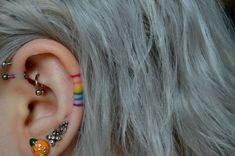 Fantastic Free Cartilage Piercings aesthetic Popular While a typical piercing i. - Fantastic Free Cartilage Piercings aesthetic Popular While a typical piercing isn't really plent - Form Tattoo, Mädchen Tattoo, Shape Tattoo, Rain Tattoo, Tebori Tattoo, In Ear Tattoo, Yakuza Tattoo, Tattoo Blog, Tattoo Flash