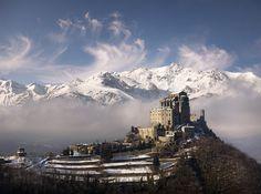 Sacra di San Michele, #piedmont #italy Saint Michael's Abbey by a galaxy far, far away... on Flickr