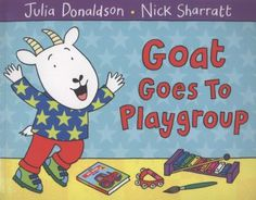 A comforting story for any child starting at, or already attending, a playgroup..Goat Goes to Playgroup. Playgroup has begun. Time to have some fun. There's a commotion in the classroom as Goat and the other animals spend the day at playgroup.