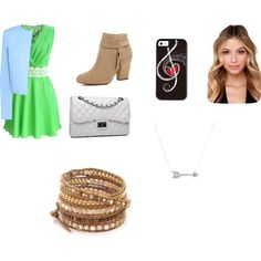 Untitled #25 by viihxoxo on Polyvore featuring polyvore fashion style Jaeger River Island Bense Bags Chan Luu Adina Reyter