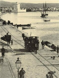 Thessaloniki ~ Seafront at the end of 19th Century