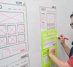 We're also a dab hand at web design so this Browser Whiteboard Stencil by UI Stencils gets us very excited! Design Thinking, Interaktives Design, Tool Design, Design Ideas, Interior Design, Intranet Design, Wireframe Design, Conception D'applications, Webdesign Inspiration