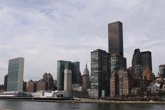 Manhattan from Roosevelt Island, NYC. Nueva York by voces, via Flickr