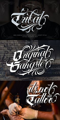Ad: Introducing of our new product the name Tribal Font. New combination Blackletter with Script style perfect for tattoo design, logo studio tattoo, shirt design,poster, branding, etc. $18 Tattoo Lettering Design, Tattoo Designs, Tattoo Fonts Alphabet, Gothic Fonts, Uppercase And Lowercase, Custom Logo Design, New Product, Script, Photoshop