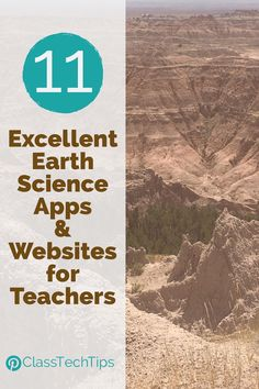 Ready for this?! Here are 11 of my favorite earth science apps and earth science websites for teachers! Lots of choices for your classroom.