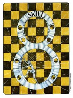 Image result for 8 of pentacles gill tarot