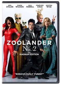 Zooland No. 2 // Ben Stiller, Owen Wilson, Will Ferrell, Penelope Cruz, and Kristen Wiig star // Beloved model Derek Zoolander and his rival-turned-partner Hansel are facing a threat to their continued success Films Hd, Comedy Movies, New Movies, Good Movies, Movies Online, Movies And Tv Shows, Watch Movies, 2016 Movies, Comedy Actors