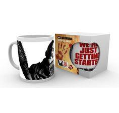 The Walking Dead Tasse Negan Getting Started, aus Keramik in Weiß Rick Grimes, The Walking Dead, Mugs, Tumblers, Walking Dead, Mug, Cups