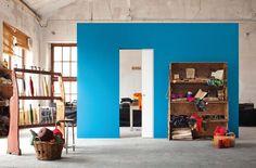Eclisse - Product - Syntesis® Line Tall Cabinet Storage, Locker Storage, Porte Design, Architrave, Blog Deco, Pocket Doors, Sliding Doors, Industrial Style, Decoration