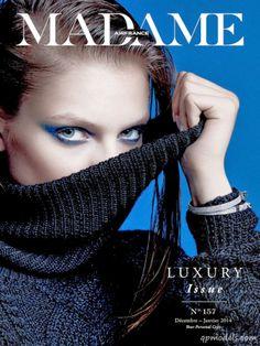 Svetlana Zakharova for Madame Air France (January 2014) - http://qpmodels.com/european-models/svetlana-zakharova/5203-svetlana-zakharova-for-madame-air-france-january-2014.html