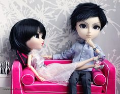 Relaxing at Home #pullip #taeyang #doll