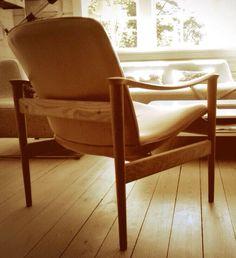 #Chair 711, design #Fredrik A. Kayser, from #LK Hjelle.