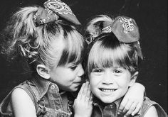 Olsen twins ,my daughter loved these little girls.