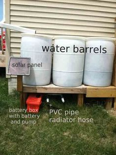How To Make A Solar Powered Water Pump