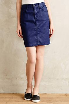 Shop our sale on women's clothing at Anthropologie and fill your closet with fashionable essentials that will turn heads everywhere you go! Denim Pencil Skirt, Denim Skirt, Anthropologie Clothing, Denim Coat, Fashion Project, Slow Fashion, Printed Skirts, Playing Dress Up, Style Me