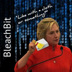 "One of the few beneficiaries of this presidential election has been the virtually unknown company before made a household name by the Clinton aides in attempting to not only delete emails but guara…They are selling a  ""cloth or something"" for wiping servers clean!"