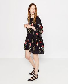 For Ryan's wedding  EMBROIDERED DRESS-DRESSES-WOMAN | ZARA United States