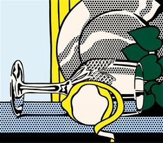 Roy Lichtenstein, 'Still Life with Glass and Peeled Lemon', 1972