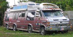 1984 Chevrolet GMC Camper with Sauna Trailer. When we finish remodeling the camper ; Vintage Rv, Vintage Trailers, Homemade Camper, Gmc Vans, Old Campers, Vanz, Cool Vans, Weird Cars, Truck Camper
