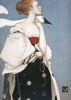 Michael Parkes is an ex-pat living in Amsterdam. His work is intelligent and beautiful...and, expensive.