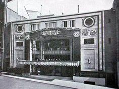 Archive photograph of The Regent Cinema on Queen's Road, Brighton, UK.