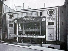 Archive photograph of The Regent Cinema on Queen's Road, Brighton, UK.