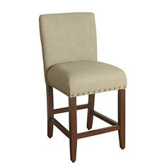 Kinfine K7569.24-F1326 Upholstered Barstool Not Applicable, Textured Sand