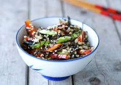 Brown Rice & Arame Seaweed Salad