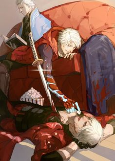 Devil may cry Devil May Cry 4, Overwatch, Game Character, Character Design, Manga, Nero Dmc, Chibi, Fanart, Cartoon Games