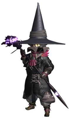 official ffxiv black mage costume | http://images2.wikia.nocookie.net/__...Mage_FFXIV.png