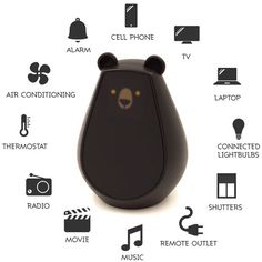 "CUTE TECH -  ""A lively universal remote control 