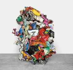 John Chamberlain Crushed Car Sculptures