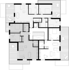 Grundriss Attika (Haus A)