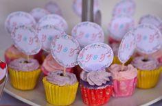 DIY cupcakes topper
