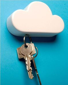 Creative Magnetic Cloud Key Holders Trinket innovative items Magnet sticker on the wall Novelty Households gift-in Key Chains from Apparel &...