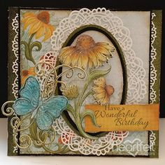 Heartfelt Creations - Oval Elegance Project