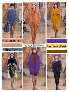 """Lacoste RTW NYFW"" by yourstylemood ❤ liked on Polyvore featuring NYFW, fashionWeek, polyvoreeditorial, polyvorecontest and PolyvoreNYFW"