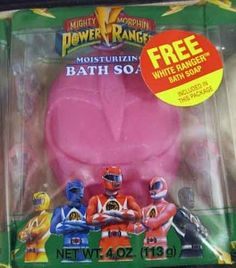 Power Rangers soap