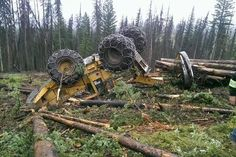 Clint Langill‎Old Logging Pictures  Easier way for putting chains on