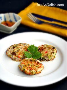 Recipe: Vegan Seaweed Okara Cake, made with okara (leftover soybean pulp) and taste like fish cake!