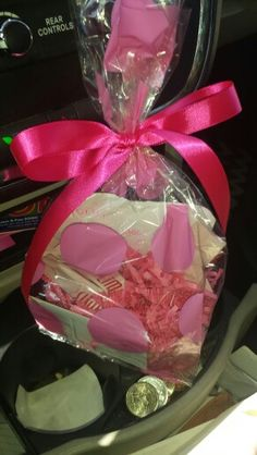 """Sample goody bag for prospective customers! Slim sticks, business card, & """"thanks for your interest"""" note. :) Great follow through tool. http://www.dianevigil.myplexusproducts.com/"""