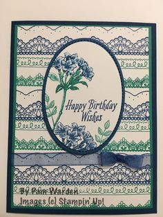 Avant Garden with Delicate Details, Stampin' Up!