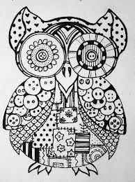 pen drawing owl - Google zoeken