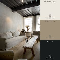 Pure & Original online store for the USA. Chalk based paint, lime paint, and plaster paint. Lime Paint, Paint Color Palettes, Brown House, Natural Interior, Dark Walls, Interior Paint Colors, Bedroom Colors, Interior Design Inspiration, House Painting
