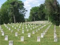 vicksburg cemetery - Google Search - My Great Grandpa was captured here after Vicksburg surrendered and was paroled after pledging allegiance.